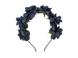 קשת פרחים צבע כחול