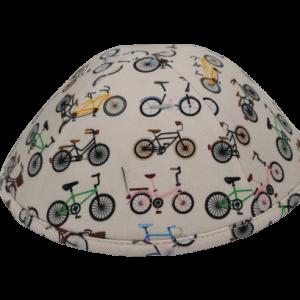 כיפה בז' הדפסי אופניים