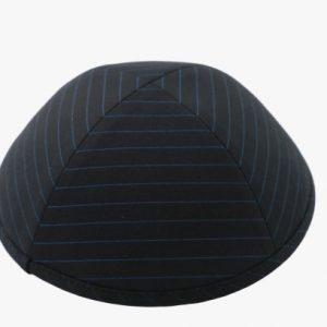 כיפה בד חליפה צבע שחור פסים תכלת