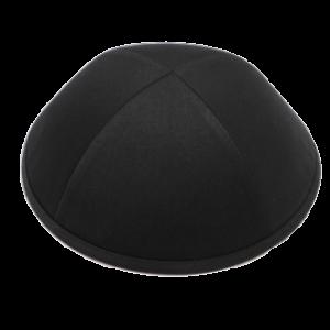 כיפה שחורה בד חליפה