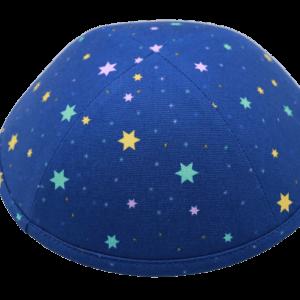 כיפה כוכבים צבע כחול