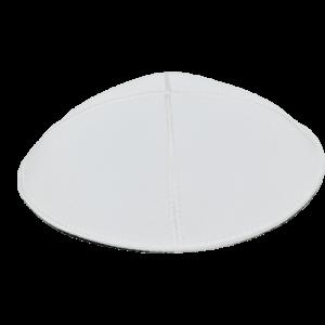 כיפה עור צבע לבן
