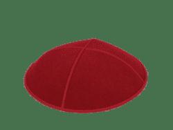 כיפה עור צבע אדום
