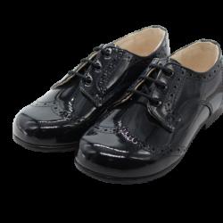 נעלי לק לוחות הברית צבע כחול כהה