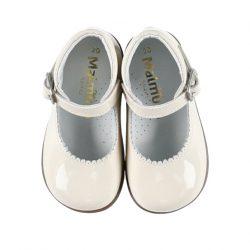 נעלי בובה צבע שמנת