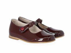 נעל בלרינה לק צבע בורדו
