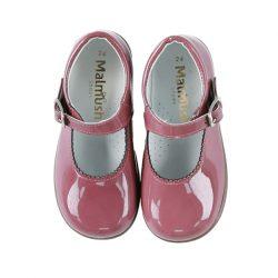 נעל בובה צבע סגול מעושן
