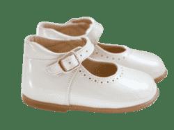 נעל בובה תינוקות גוון פנינה