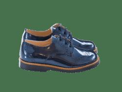 נעל לוחות הברית  צבע כחול סוליה עבה