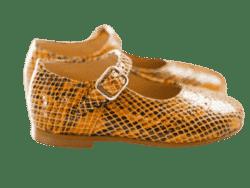 נעל בובה הדפס נמר