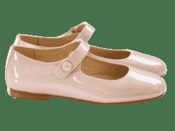 נעל בלרינה גוון ניוד סגירת תיקתק