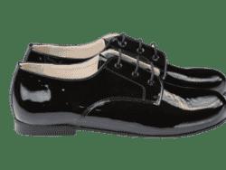 נעל לק קלאסית צבע שחור