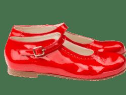 נעל בובה צבע אדום
