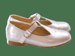 נעל בובה צבע ורוד עתיק