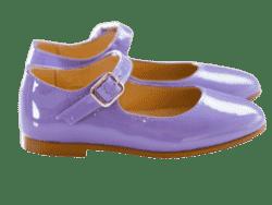 נעל בובה צבע סגול