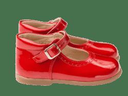 נעל בובה תינוקות צבע אדום