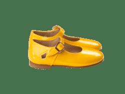 נעל בובה צבע צהוב