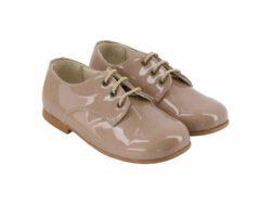 נעל קלאסית בנים צבע קאמל